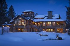 *THE ESSENCE OF THE GOOD LIFE™*: MARVELOUS GREAT POINT LODGE IN MONTANA