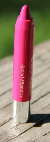 Clinique Chubby Stick in Pudgy Peony. Click through for swatches and review!