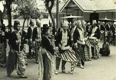18 March Princes of Yogyakarta. Bali, Dutch East Indies, Javanese, Semarang, Yogyakarta, Historical Pictures, Old Pictures, Southeast Asia, Old Things