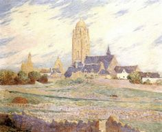 THE CHAPEL OF THE MURIERS AND THE CHURCH OF THE BOURG OF BATS by Ferdinand Puigaudeau