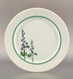 MKT Railroad   601: Bluebonnet Plate Made Especially for MKT Railroad : Lot 601