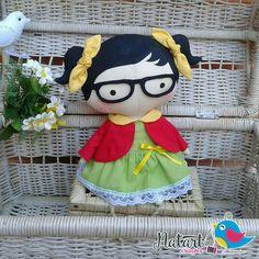 Boneca Tilda Toy (Chiquinha)