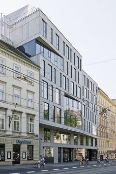 Department Building in Vienna, Austria by NMPB Architekten