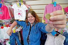 Mum-of-two becomes retail entrepreneur after buying business for just 1 An entrepreneurial mum is making her first venture in to retail after a disgruntled shopkeeper put his business up for sale for 1.  Michelle Howland 26 snapped up the opportunity to set up her own business after she spotted Andy Cunningham was selling up for just 100 pennies.