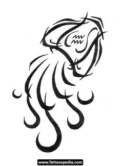 Aquarius Tattoo Design