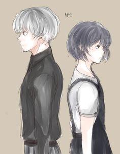 Haise and Touka