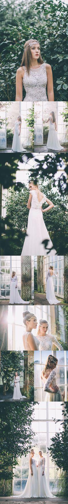 Bridal style : Maria Senvo  #wedding #dress #gown