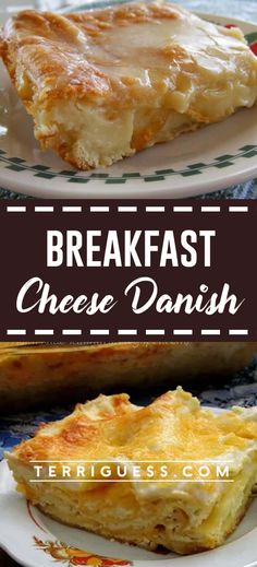 Easy Breakfast Cheese Danish