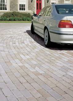#driveway Fairstone Sawn and Tumbled #Stone #Setts - Silver Birch