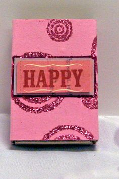 WEDDING/SPRING/EASTER Happy favor box by WritingPlaces on Etsy, $1.00