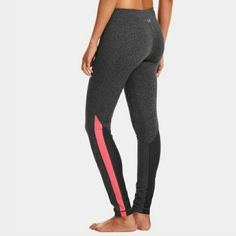 armour leggings   large   brand new under armour studiolux striped