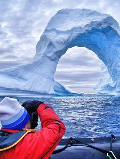 Paradise bay in Antarctica. Read more about this the expedition. Trover - Discover the Best of Everywhere.