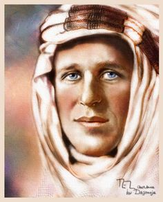 "Thomas Edward Lawrence ""de Arabia"""