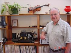 Dave Whittaker and Aura turntable