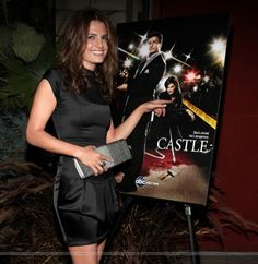 EVENTS: Stana Katic at the Castle Season 3 Premiere Party (2010)