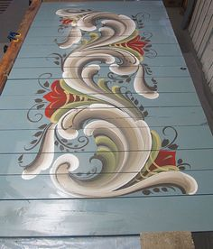 Section C Finished ROSEMALING | por The VIKINGS are Coming!