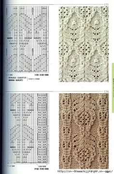 Lace & Cable knitting patterns: Love Nr 134 ~~ http://blog.trud.ru/users/smokovnica67/post353214465/