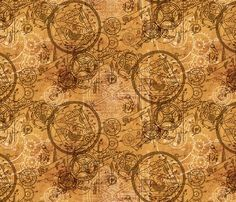 Fun custom fabrics - design your own, or buy what someone else has designed - Spoonflower