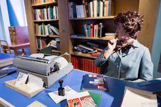 Kirjamuseo Pukstaavi, mainio museo Sastamalassa. Desk, Furniture, Home Decor, Museums, Desktop, Decoration Home, Room Decor, Table Desk, Home Furnishings