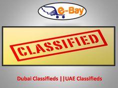 Dubai Classifieds || UAE Classifieds