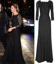 Diane-Von-Furstenberg-Zarita-black-lace-dress-gown-Duchess-of-Cambridge-Kate-Middleton