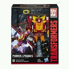 Pre-Order Leader Optimus Prime & Hot Rod Power of the Primes Figures Now