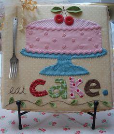 """Bee In My Bonnet Co. Patterns: eat """"Cake"""""""