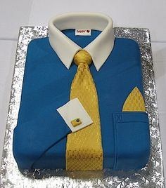 Father's Day recipe:  Just a page with pictures of shirt and tie cakes.  I'd never attempt to make one, I just think they're fabulous.