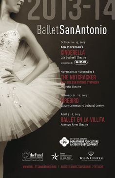 2013-2014 Season Tickets now available at: www.BalletSanAntonio.org