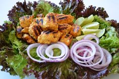 Grilled Chicken Tikk