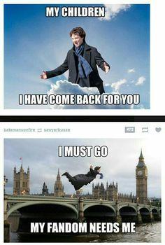 Oh my god, I love this fandom.don't ever change Sherlock Fandom. Quotes Sherlock, Sherlock Holmes Bbc, Sherlock Fandom, Sherlock John, Jim Moriarty, Johnlock, Martin Freeman, Fandoms, Mrs Hudson