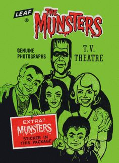 Munsters card lily munster media the munsters lilly munster lily