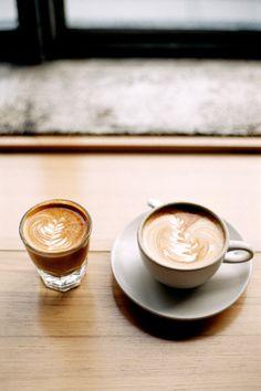 365daysofcoffee:  Gibraltar + Cappuccino Contax Aria | Expired Fujifilm