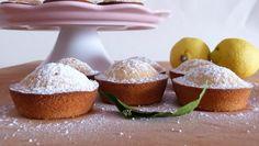 Soffici #tortine al #limone, delicate grazie allo #yogurt, ideali per #colazioni e #merende, #senzaglutine http://blog.giallozafferano.it/casadolcecasaconemma/tortine-al-limone-senza-glutine/