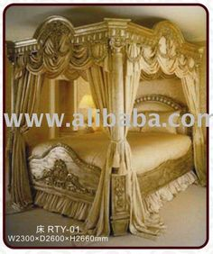 17 best canopy bed drapes images canopy bed drapes bed - King size canopy bed with curtains ...