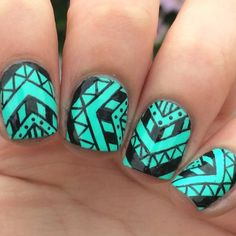 Video for my Tribal nails inspired by @kayleehazacupcakee #kayleehazacupcakee And I love this song {Glory} by John LegendWe just finished watching Selma at school and it was amazingAnd I almost cried like twiceBut yea I just rly liked it