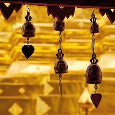 Temple bells, Wat Doi Suthep, Thailand