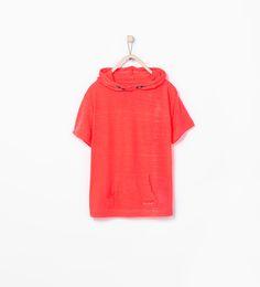 Immagine 1 di Felpa cappuccio tasca di Zara