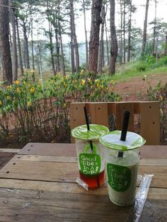 Check out Moon Leaf at Camp John Hay in Baguio. John Hay, Baguio, Milk Tea, Pretzels, Teas, Moon, Camping, Snacks, Check