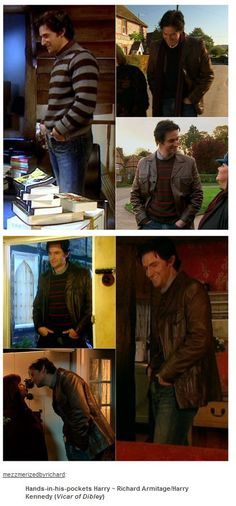 Richard Armitage in Vicar of Dibley     My favorite episodes Season 3-8 and 9