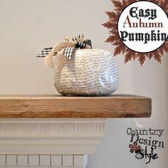 Easy Autumn Pumpkin SQ