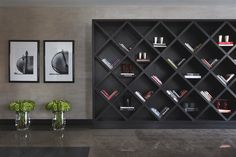 I dream of a bookcase like this.    Kelly-Hoppen-Yoo-Home-Interior-Design-Moscow-11