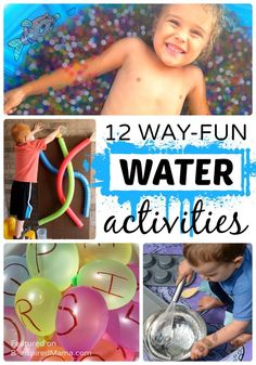 12 Way-Fun Water Activities for Kids this Summer - B-Inspired Mama - Sponsored by @BananaBoat #BBBestSummerEver