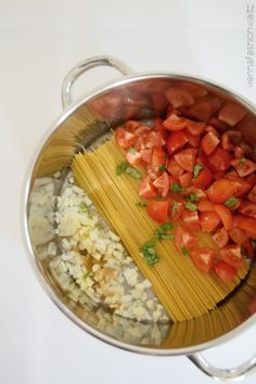Schnelles Rezept mit wenig Aufwand: One Pot Pasta Spinach Spinta Fetakäse Fashionblog Lifestyle Vienna Fashion Waltz (4)