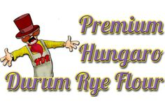 PREMIUM QUALITY HUNGARO DURUM RYE FLOUR: During producing our premium quality flour we choose those Hungaro durum rye grains which have the most excellent features and the highest gluten content- after that we mill them much smoother than the average wheat flour. This kind of flour - like the others - is free from any kind of additives, stabilizers and has excellent nutritional physiological effect. Rye Grain, Graham Flour, Types Of Flour, Rye Flour, Grains, Content, High Fibre, Mineral, Fiber
