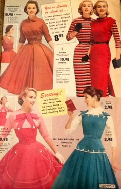 Fantastic dresses from mail order mag