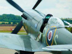 Spitfire at RAF Duxford