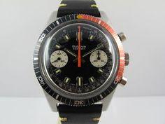 FS: Vintage Bulova 666ft Deep Sea Chronograph Valjoux Thumb 3
