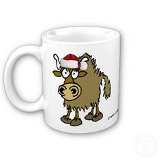 Christmas Yak Coffee Mug