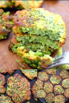 food These light, golden-brown Broccoli Patties make a delicious vegetarian dinner or lunch and kids love them, too! Ready in less than 30 minutes. Cooktoria for more deliciousness! Share your photos with me, I ALWAYS check! Broccoli Patties, Broccoli Fritters, Zucchini Fritters, Pea Fritters, Fried Broccoli, Veggie Patties, Cauliflower Fritters, Broccoli Cheese Bites, Veggie Fritters
